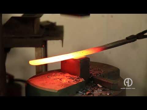 клинок меча из дамасской стали/blade Of Damascus Steel Sword