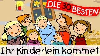 Ihr Kinderlein kommet - Weihnachtslieder zum Mitsingen || Kinderlieder