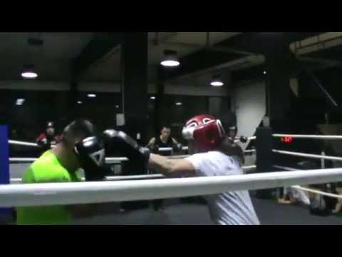 Sparring In Thunder Gym Milano