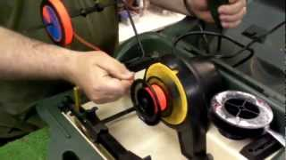 how to spool a fly reel with fly line and backing instructional video