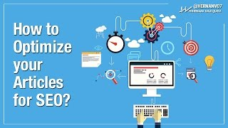 How to Do On Site SEO - Optimizing an Article for On Page SEO - Hernan Vazquez