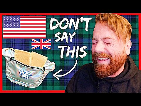 10 American Words That Are RUDE In The UK 🇺🇸🇬🇧🤣