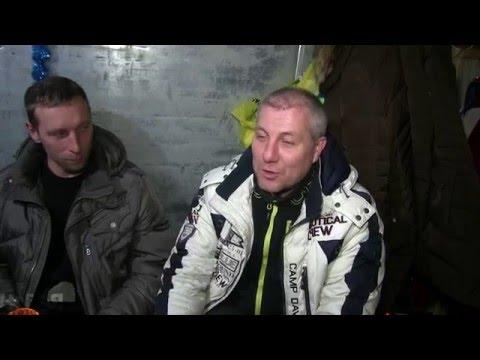 Дальнобойщики в снежном плену