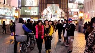People Watching: Osaka, Japan (Winter)