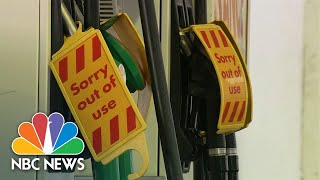 U.K. Gas Shortage As Number Of Truck Drivers Dwindles