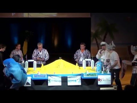2016 - A.R.D 81 vs 121 GobGob Tournefeuille - Coupe de France Robotique 2016