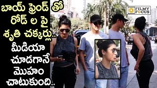 Shruti Haasan Caught Roaming with Boyfriend on Roads