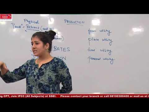 SSEI CPT ECO PRODUCTION CLASS 1