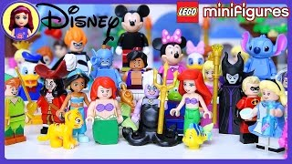 Lego Disney Minifigures Set meet Disney Princesses Build Review Silly Play - Kids Toys
