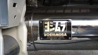説明 ヨシムラマフラーを付けた始動動画です。 軽トラカスタムのマフラ...