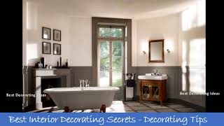 Bathroom designs with roll top baths | Modern washroom & showering area design picture