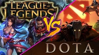 Repeat youtube video DeadLock: LoL vs. DOTA, Which Game is Better?
