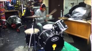 "Capsize ""Pale"" Drum Cover"