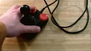 Nice and Games -- Competition Pro joystick for the Atari 5200!