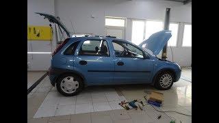 CORSA - ремонт централно, смяна машинки, предни врати