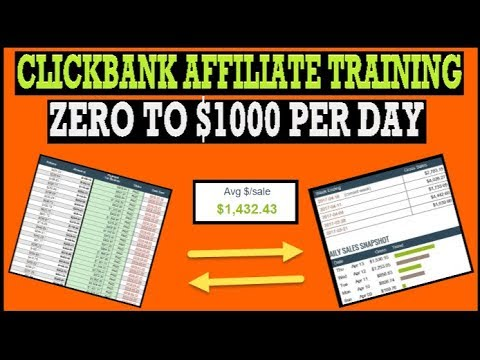 🔥 Clickbank Affiliate Marketing ($1000 Per Day Tutorial) 🔥