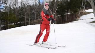 Les manoeuvres de bases du chasse-neige en ski alpin