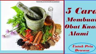 5 Cara Membuat Obat Kuat Secara Alami