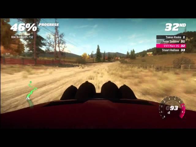 Forza Horizon Rally Montano Plains stage 2 - no comment run