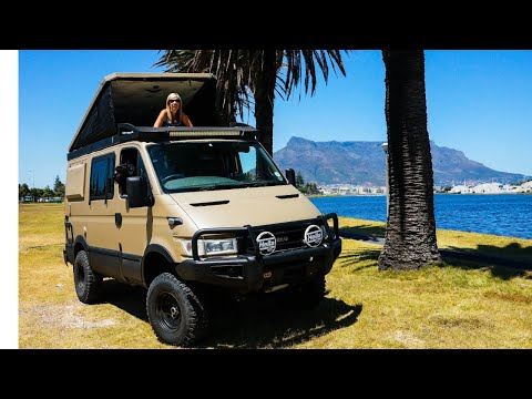 Iveco Daily 4x4 off road extreme van tour(2020)