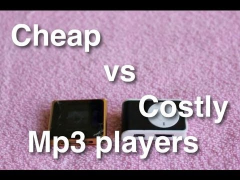 Cheap vs costly mp3 players
