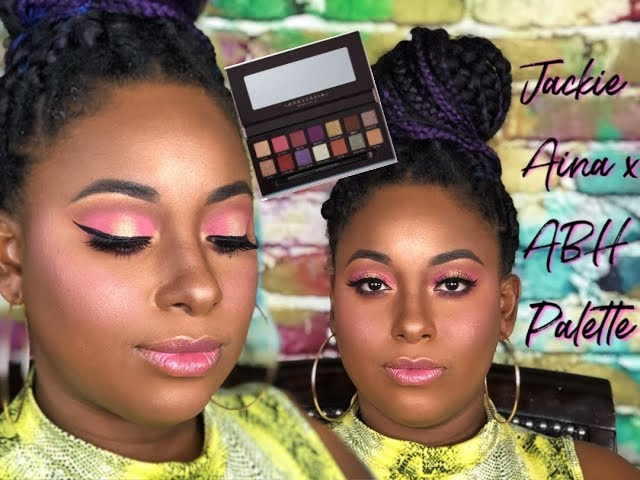 Jackie Aina x Anastasia Beverly Hills Palette 1st Look + Swatches || Vicariously Me