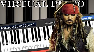 Roblox Virtual Piano: Pirates of the Caribbean - He's a Pirate
