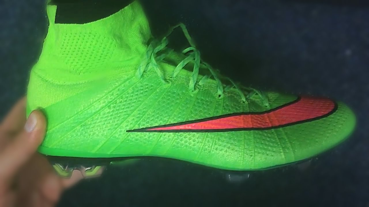 e74557e8876f ... 4 green Unboxing Nike Mercurial Superfly IV Electric Green by  nikefootballkickers - YouTube ...