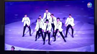 Download Video Exo closing ceremony on pyeongchang Winter Olympics MP3 3GP MP4