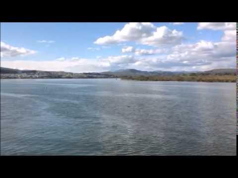 Inside Ioannina lake