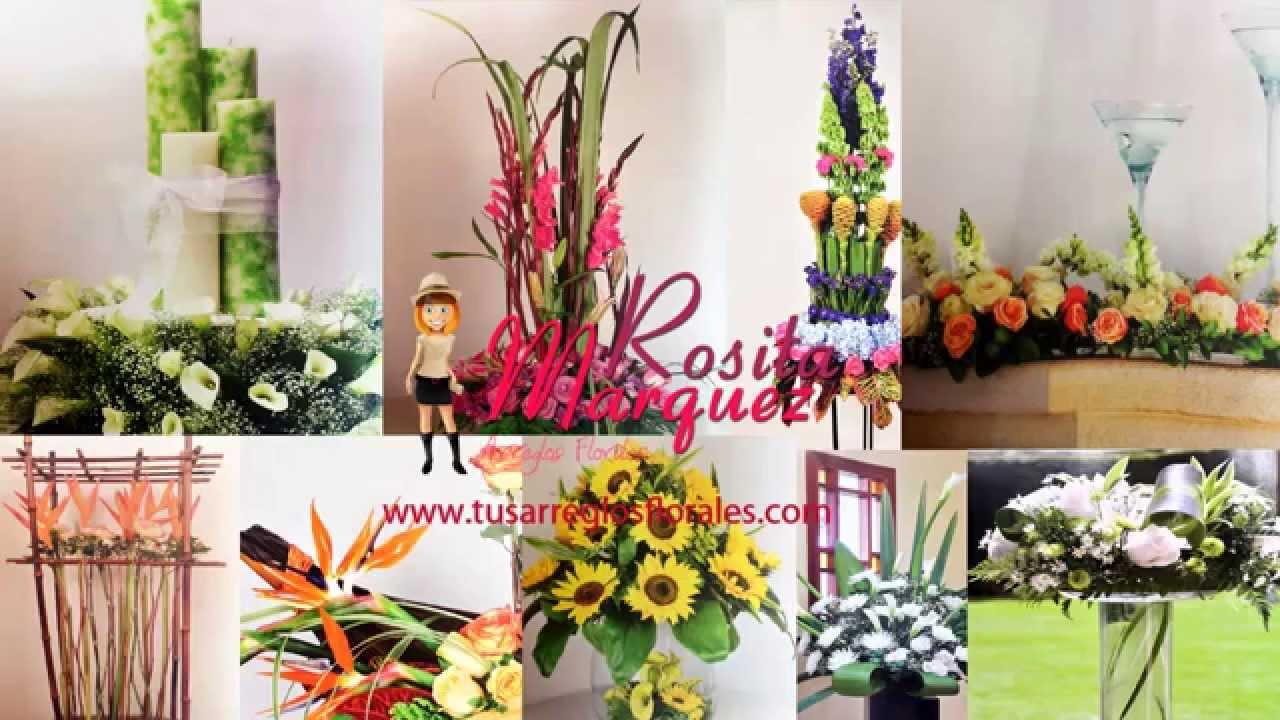 45b732e760237 Arreglos florales naturales Hermosos y sencillos de hacer - YouTube