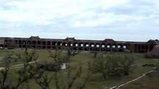 Fort Jefferson in Dry Tortugas, Key West, FL