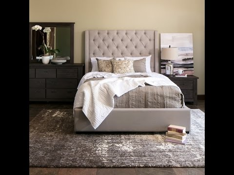 Jerome's Furniture  Parlee Upholstered Bedroom Set