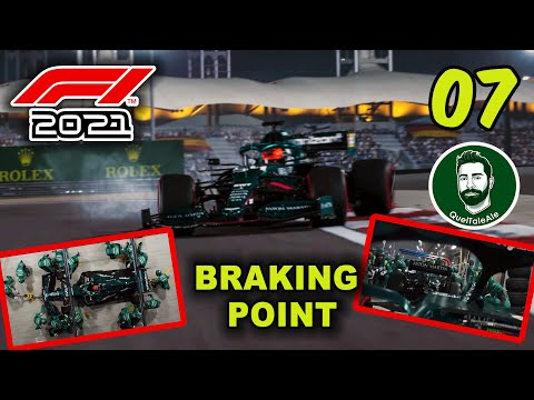 F1 2021 - Gameplay ITA - BRAKING POINT - 07 - SCELTE DIFFICILI
