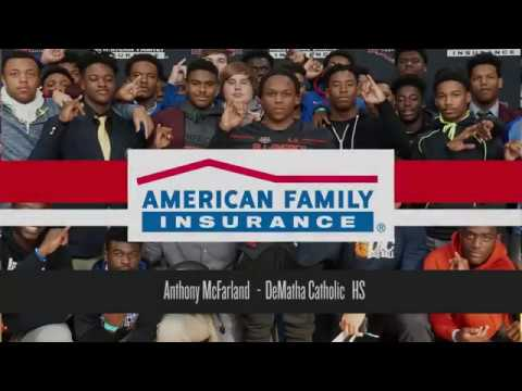 Anthony McFarland: American Family Insurance Selection Tour Jersey Presentation