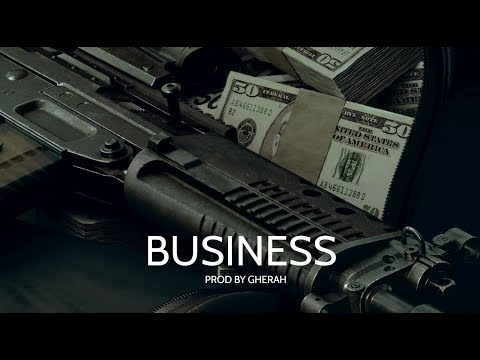BUSINESS Trap Beat Instrumental | HARD Trap Type Beat ( Prod. By Gherah )
