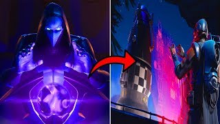FORTNITE IS THE NEW OMEN CHARACTER CONTROLLING THE VISITOR AND MAKING HIM DESTROY THE MAP?