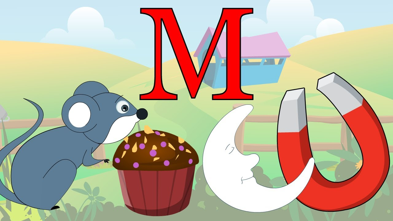 Learn About The Letter M   Preschool Activity   YouTube