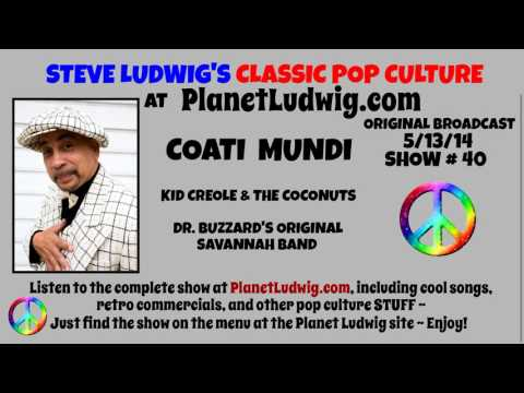 COATI MUNDI INTERVIEW ~ Steve Ludwig's Classic Pop Culture at PlanetLudwig.com