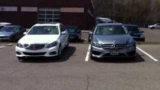 2014 mercedes benz e350 sport and luxury model comparison
