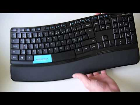 Microsoft Sculpt Comfort Keyboard Unboxing og Hands-on