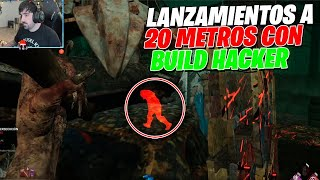 DEAD BY DAYLIGHT | LANZAMIENTO A 20 METROS CON LA CAZADORA Y BUILD DE WALLHACK LOS VES A TRAVES !