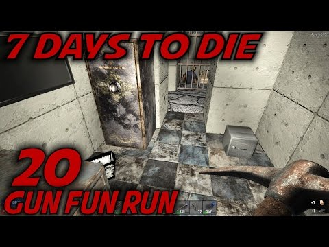 7 Days to Die | EP 20 | Gun Fun Run | Let's Play 7 Days to Die Gameplay | Alpha 15 (S15)