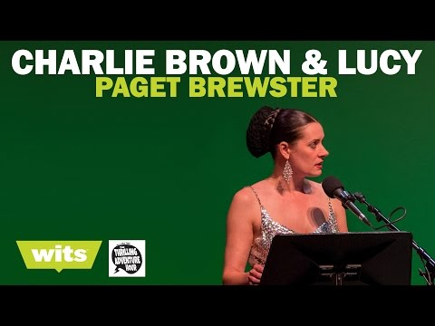 Paget Brewster  'Charlie Brown And Lucy'  Wits