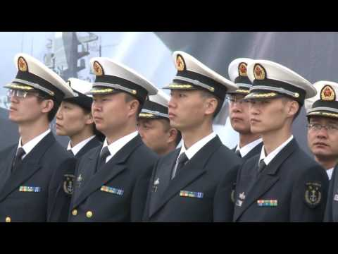 Chinese naval fleet arrives in Russia for joint drill