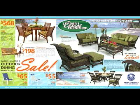 Patio Furniture By Leaders Casual