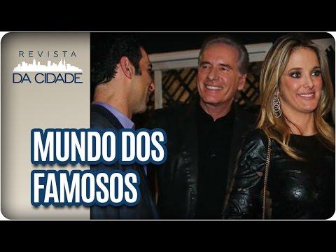Ticiane e Roberto Justos, Dani Winits e Leo Dias - Revista da Cidade (12/01/17)