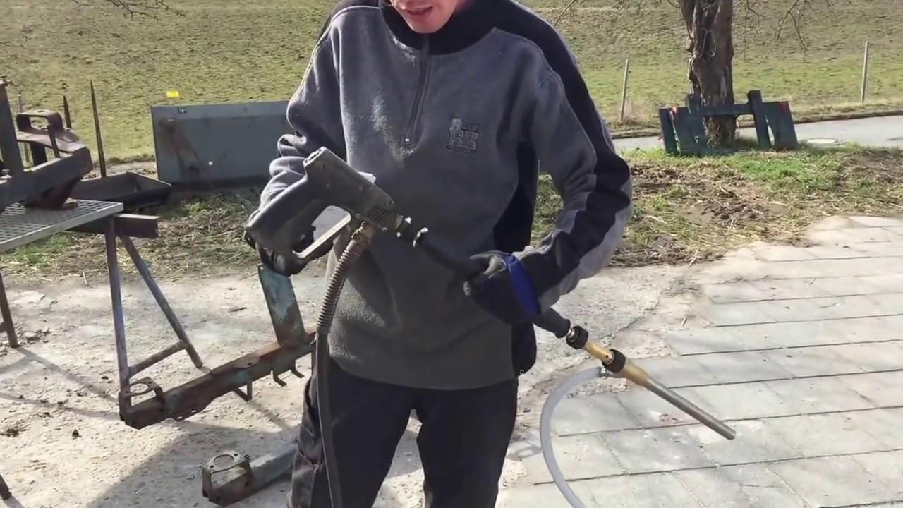 Etwas Neues genug Kärcher Naßstrahlen Kränzle Sandstrahlinjektor - YouTube #WG_42