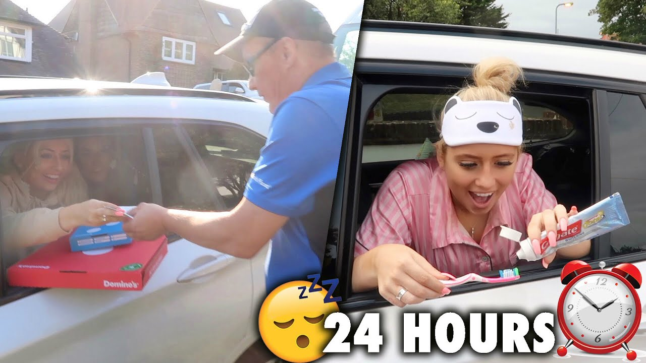 Living In My Car For 24 Hours And This Is What Happened