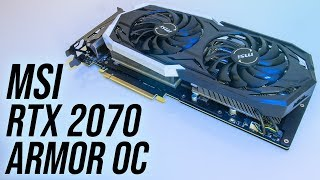 MSI GeForce RTX 2070 Armor OC Review + Benchmarks
